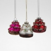 Kalėdinis žaislas tortas Werner Voss, 8 cm