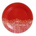 Lėkštė Luminarc FLOWERFIELD RED, 19 cm