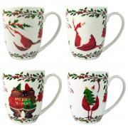 Porcelianinis Kalėdinis puodelis, 350 ml
