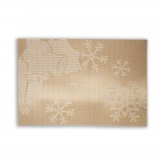 Auksinis Kalėdinis padėkliukas, 30 x 45 cm