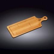 Bambukinė serviravimo lentelė Wilmax, 34x12 cm