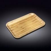 Bambukinis serviravimo padėklas, 25,5x15 cm