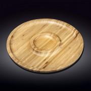 Bambukinis serviravimo padėklas, 2 d 35,5 cm