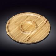 Bambukinis serviravimo padėklas, 2 d 30,5 cm