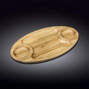 Bambukinis serviravimo padėklas, 3 d 35,5x20,5 cm
